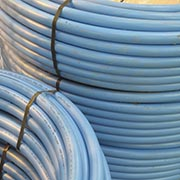 MDPE and barrier pipe